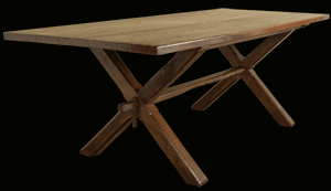 Cross Stretcher Farmhouse Refectory Table