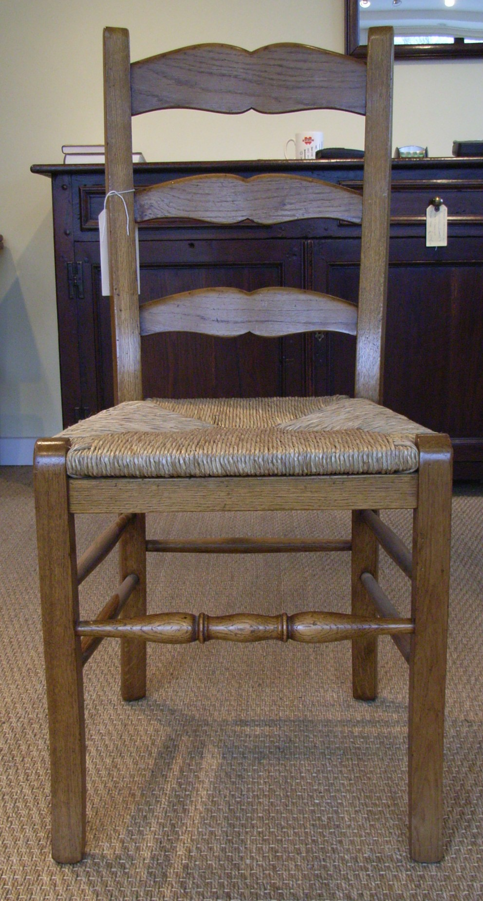 Oak Ladder Back Dining Chairs Chair Pads Amp Cushions