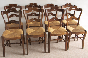 Take A Look At Our Selection Of Provincial French Dining Room Antique Chairs And English