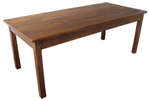 Antique Chestnut Farmhouse Table