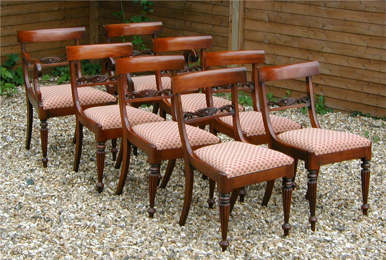Reproduction Mahogany Dining Chairs