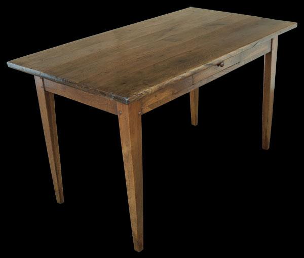 antique french oak kitchen table